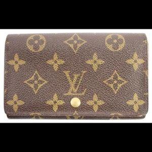 Authentic Louis Vuitton snap wallet